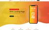 Bootstrap Nexus App Landing Page PSD sablon Nagy méretű képernyőkép