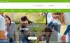 "Landing Page Template namens ""Helping Hands Charity"" Großer Screenshot"