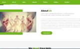 Responsywny szablon Landing Page Helping Hands Charity #78518