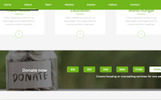 """Landing Page Template namens """"Helping Hands Charity"""""""
