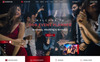 """Eventize Events & Party"" modèle PSD adaptatif Grande capture d'écran"