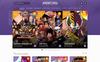 "PSD šablona ""Animotra - Anime and Manga"" Velký screenshot"