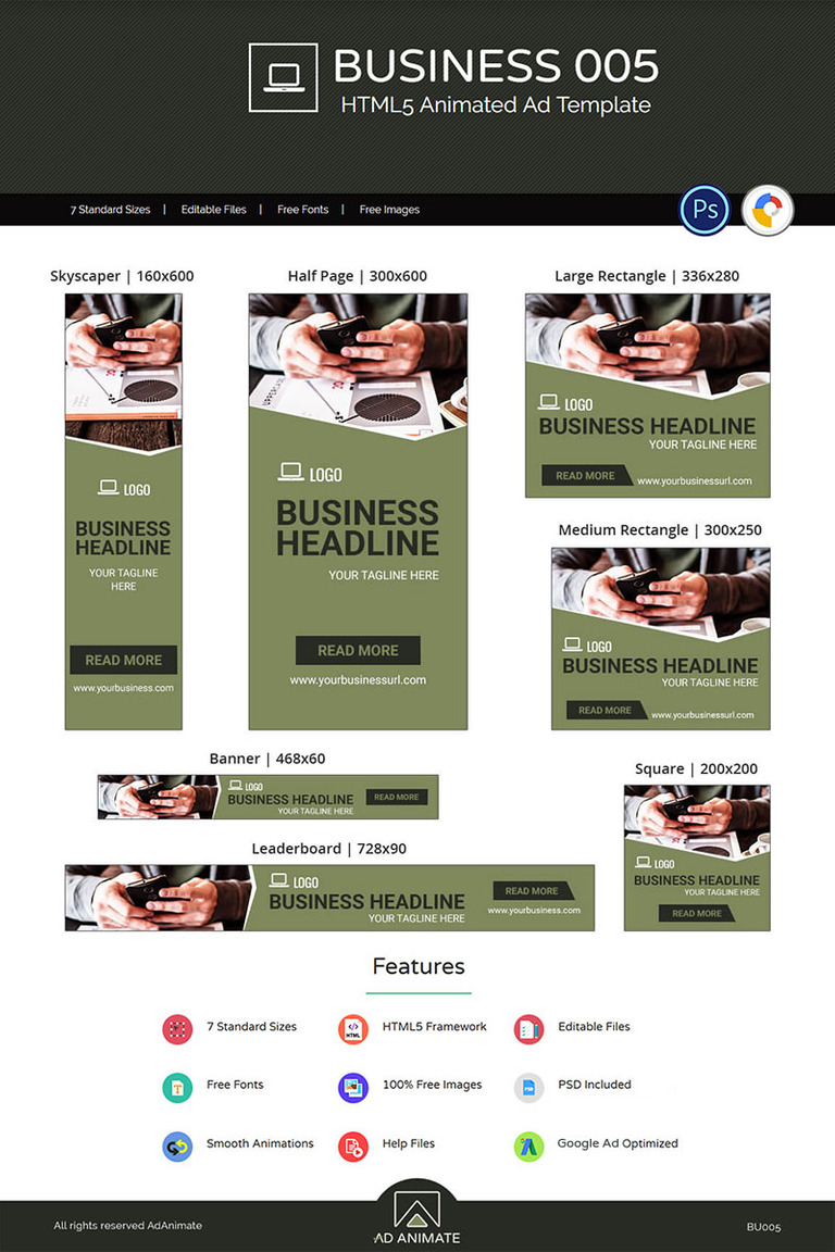 business banner 005 animated ad animated banner 74133