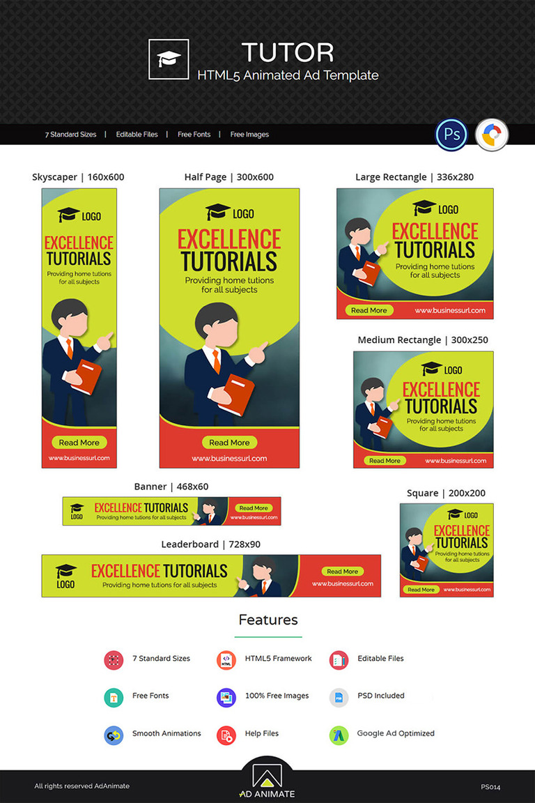 Professional Services | Tu Animated Banner #73535