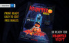 Haunted House Party Flyer - Halloween Night Corporate Identity Template Big Screenshot