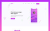 Appon - Creative App PSD Template Big Screenshot