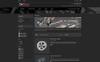 """PrestaShop шаблон """"Car Store"""" Большой скриншот"""