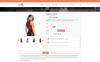 Tema de PrestaShop para Sitio de Tienda de Camisetas Captura de Pantalla Grande