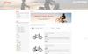 Tema de PrestaShop para Sitio de Tienda de Motos Captura de Pantalla Grande