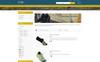 Tema de PrestaShop para Sitio de Zapaterías Captura de Pantalla Grande