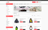 "Modello OpenCart Responsive #73412 ""Mega-Fashion Store"" Screenshot grande"