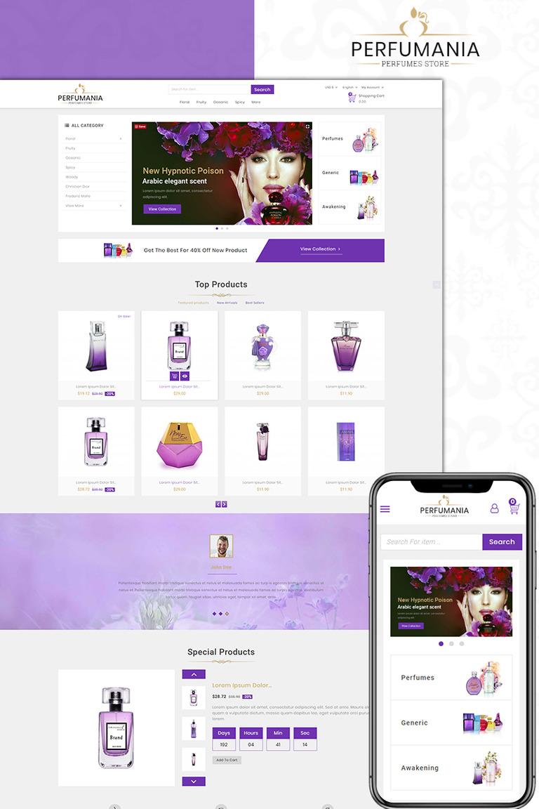 Perfumania - Perfume Store PrestaShop Theme