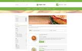 "PrestaShop шаблон ""Vegan Food Store"""