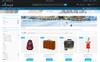 Tema de PrestaShop para Sitio de Guías de viajes Captura de Pantalla Grande