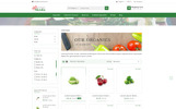 """Vegetable Shrub - Organic Food Store"" Responsive PrestaShop Thema"