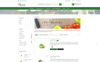 Vegetable Shrub - Organic Food Store PrestaShop Theme Big Screenshot
