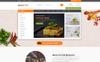 """About Food - Online Food Store"" 响应式PrestaShop模板 大的屏幕截图"