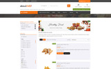 """About Food - Online Food Store"" 响应式PrestaShop模板"