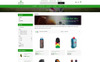 "PrestaShop Theme namens ""Online Sports Store"" Großer Screenshot"