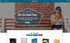 "PrestaShop шаблон ""Books Sales Store"" Большой скриншот"