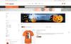 Responsive Halloween Store Prestashop Teması Büyük Ekran Görüntüsü