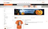 Responsive Halloween Store Prestashop Teması