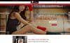"PrestaShop Theme namens ""Aloha's Fitness Store"" Großer Screenshot"