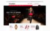 "PSD Vorlage namens ""Threadbare Fashion"" Großer Screenshot"