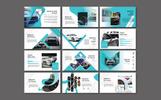 """Tema PowerPoint #79815 """"Automotive"""""""