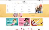 """Barcelona"" bigCommerce Theme adaptatif"