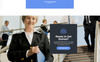 Family Insurance - Responsive Landing Page Unbounce Template Big Screenshot