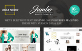 """Jumbo Premium"" BootstrapMagento模板"