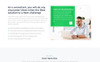 Onex - Consulting & Business Landing Page Template Big Screenshot