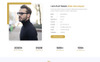 """Mira - Creative Resume/Portfolio"" Responsive Landingspagina Template Groot  Screenshot"
