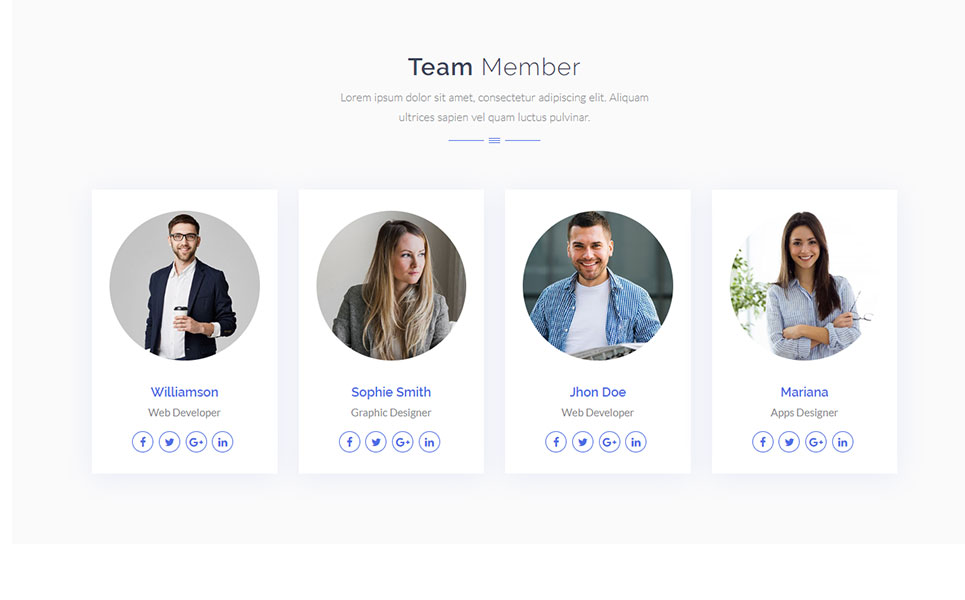 Famous - Digital Corporate Business Landing Page Template
