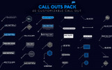 """Call Out Pack"" After Effects Intro"
