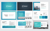 Square - Creative Modern Business Plan PowerPoint Template