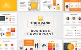 """PowerPoint šablona """"The Brand -"""""""