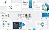 "PowerPoint šablona ""Probiz Business Presentation"""