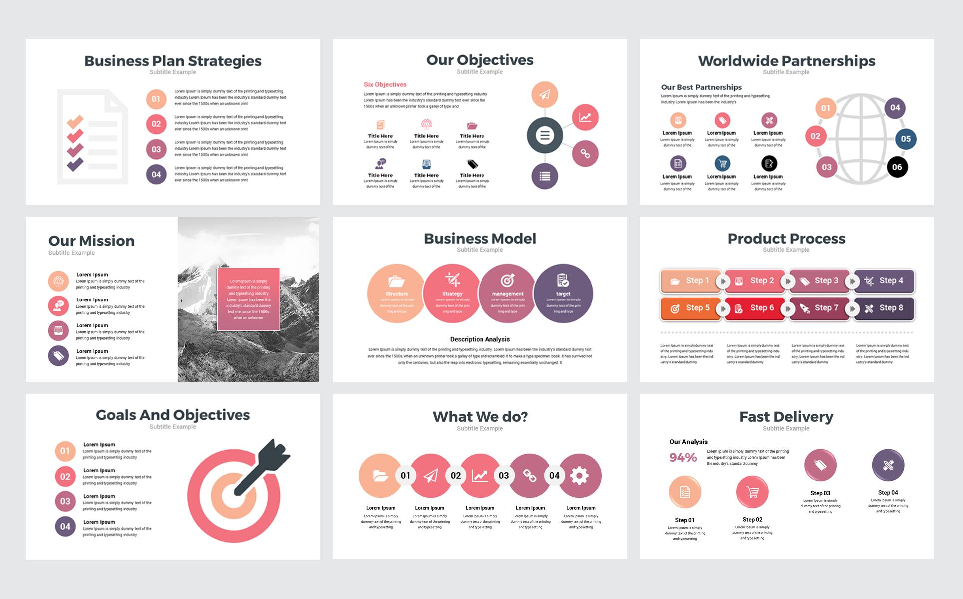 canva business presentation powerpoint template  77848