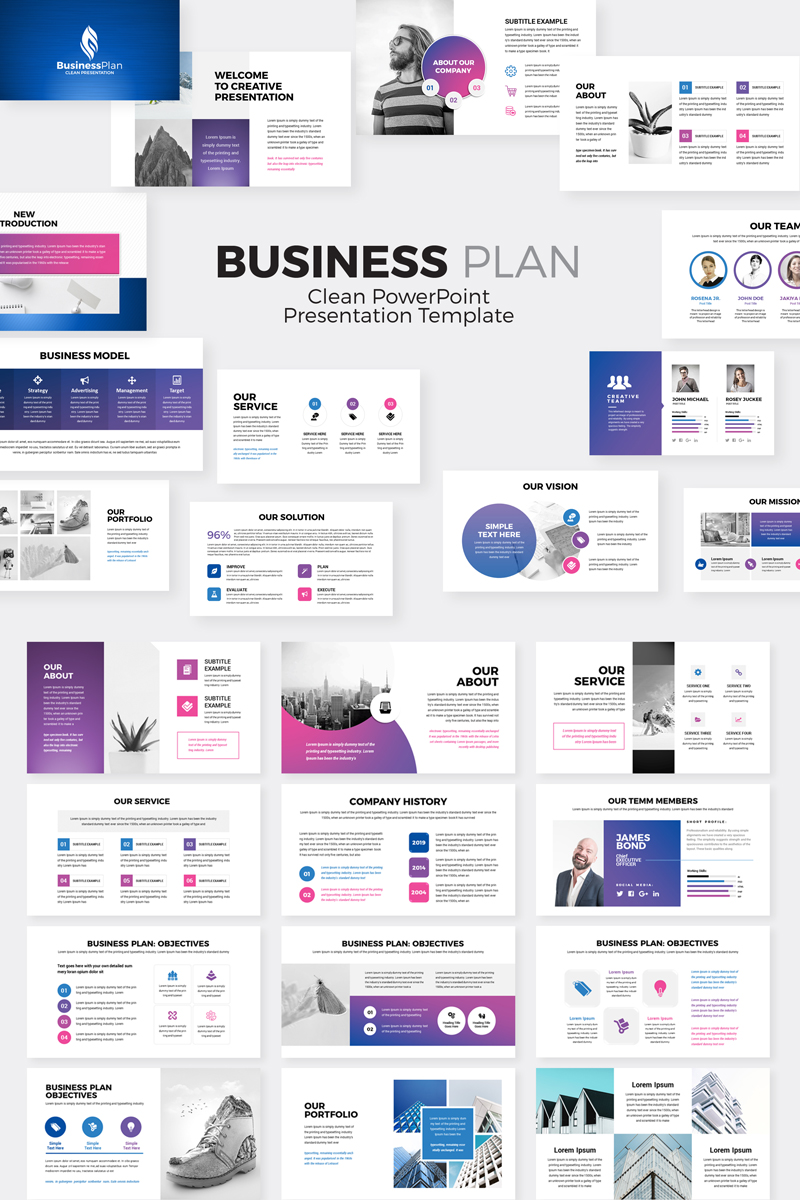 powerpoint presentation of business plan