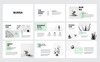 """Burra Clean Simple Presentation"" modèle PowerPoint  Grande capture d'écran"