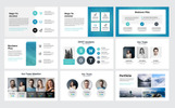 "Template Keynote #80509 ""Square - Creative Modern Business Plan"""