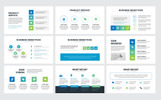Arrow Business Plan Keynote Template