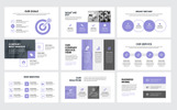 """Adhar - Modern Minimal Business"" PowerPoint Template"