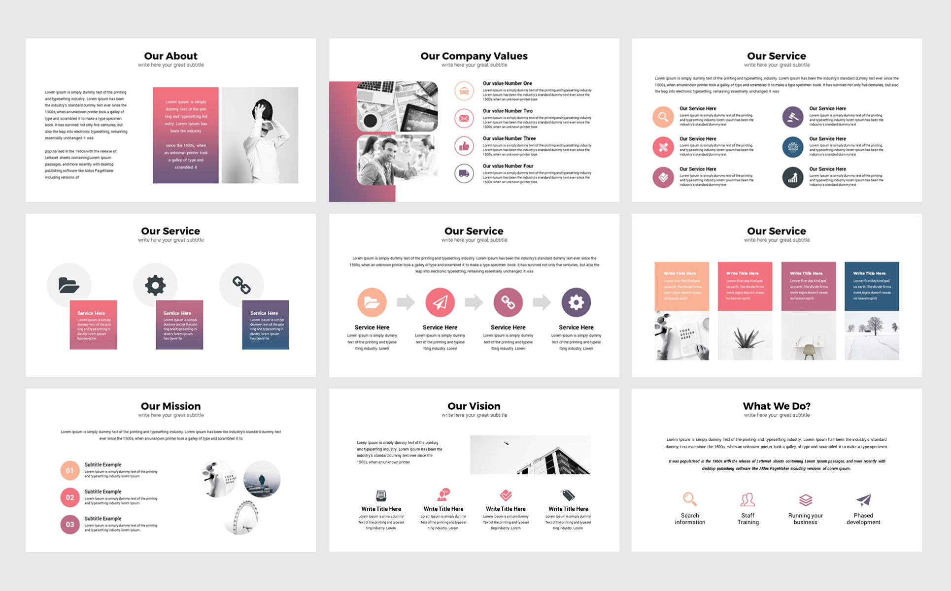 Business Plan Presentation PowerPoint Template