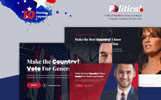 Politicalo - Political and Candidate WordPress Theme