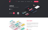 Applio - App Landing Page Template