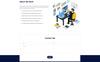 Plantilla PSD para Sitio de Páginas personales Captura de Pantalla Grande