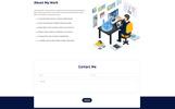 Plantilla PSD para Sitio de Páginas personales